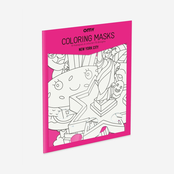 OMY Coloring Masks - NYC - Little Nomad