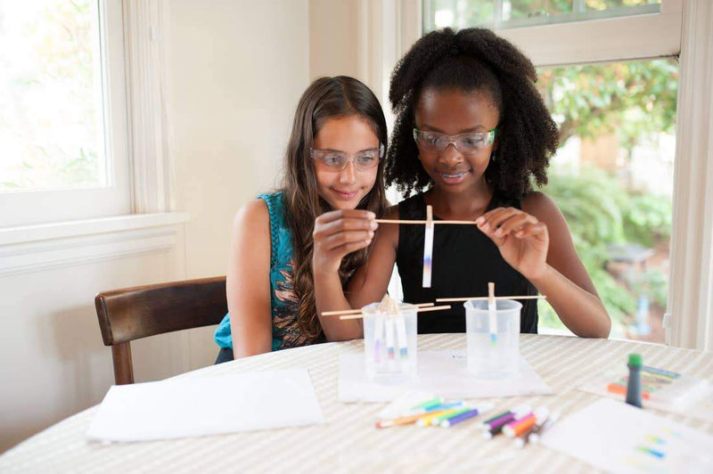 Yellow Scope - Paper Chromatography: The Art & Science of Color For Kids - Little Nomad