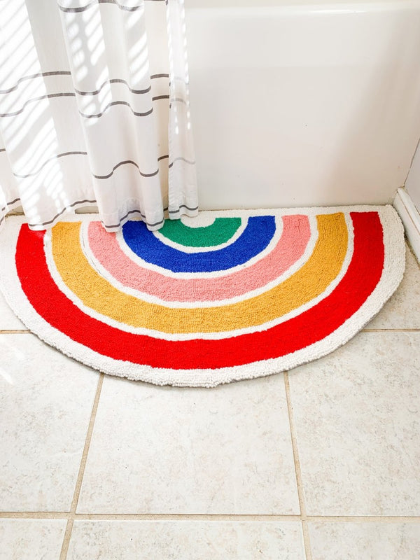 Rainbow Hook Rug - Little Nomad