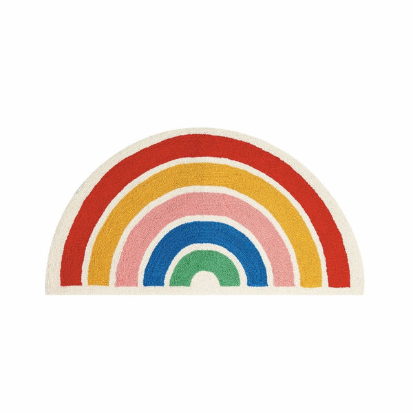 Ampersand Design Studio & Peking Handicraft - Rainbow Hook Rug - Little Nomad
