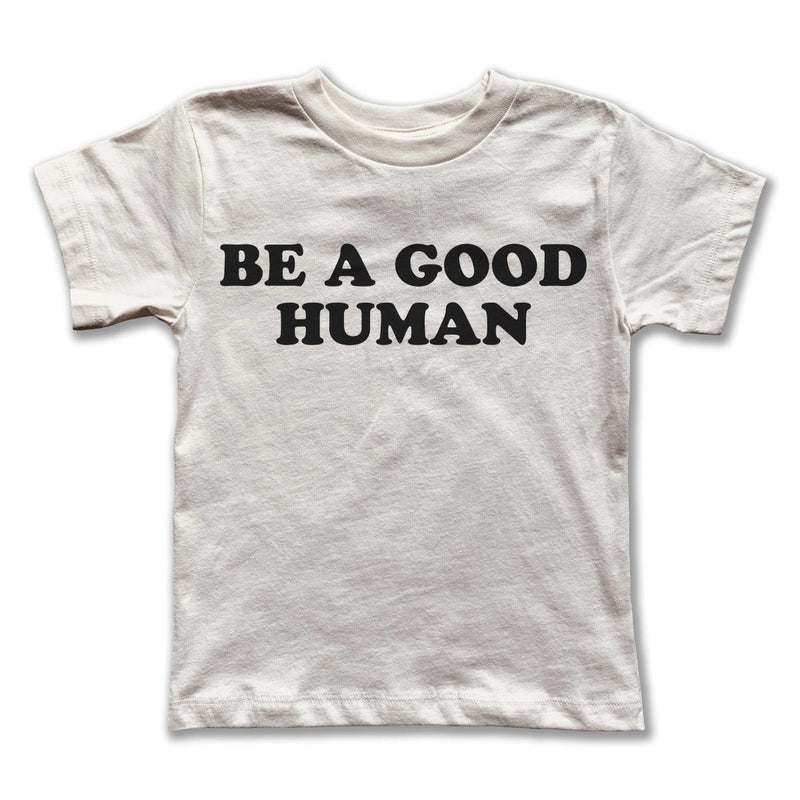 Rivet Apparel Co. - Good Human Tee - Little Nomad