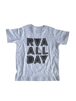 RVA ALL DAY - Kids T Shirt - Little Nomad