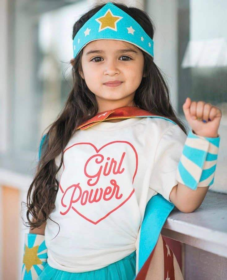 Savage Seeds - Girl Power Baby Kids Tee - Little Nomad