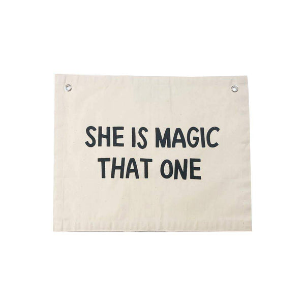 She Is Magic Banner - Little Nomad