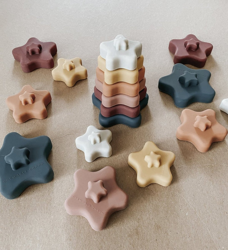 Star Teether Stacker - Little Nomad