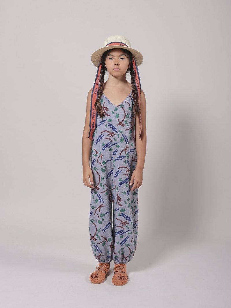 Bobo Choses Strokes All Over Overalls - Little Nomad