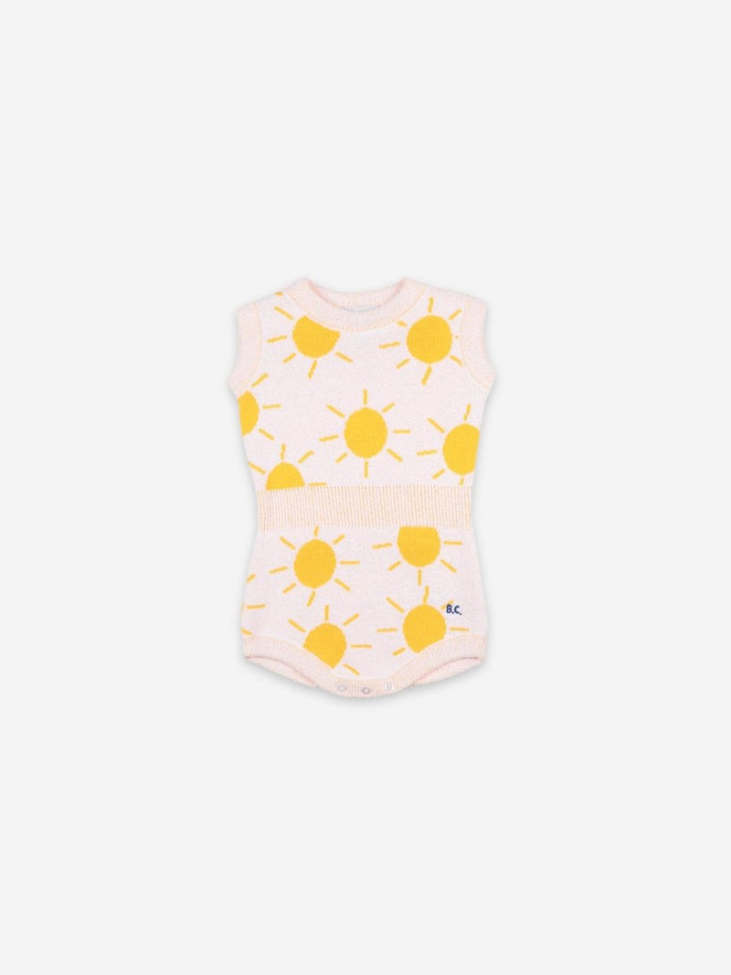Bobo Choses - Sun Jacquard Knitted Playsuit - Little Nomad