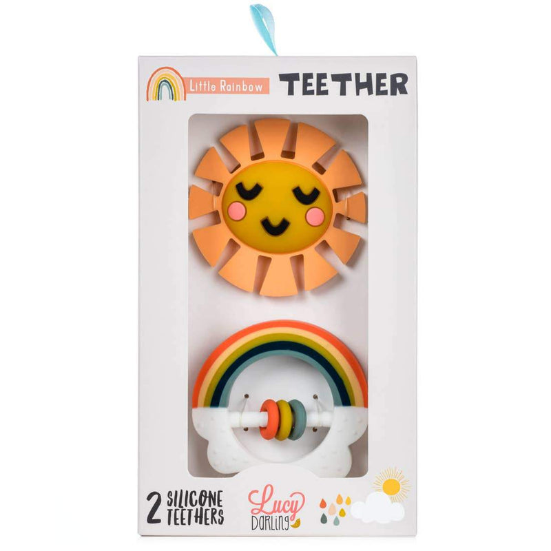 Sunshine & Rainbow Teether - Little Nomad