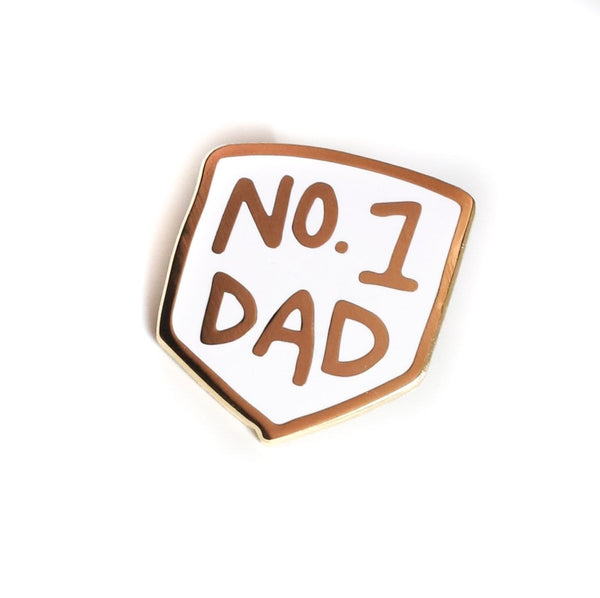 The Penny Paper Co. - Enamel Pin, No. 1 Dad - Little Nomad