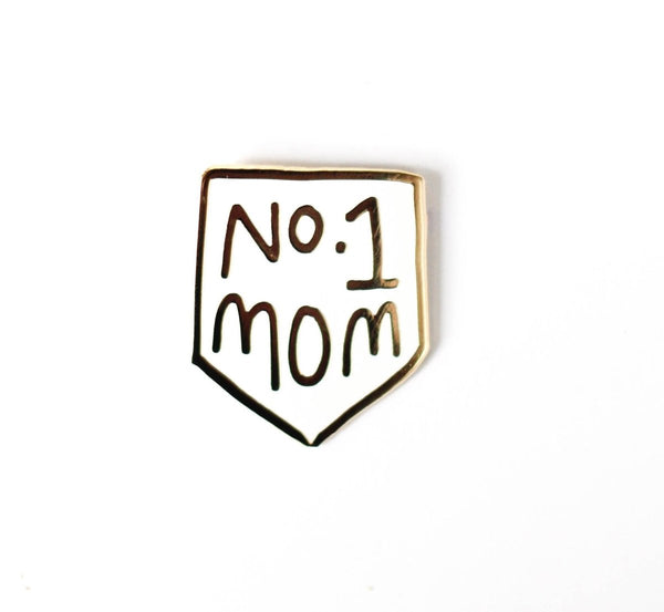 The Penny Paper Co - No. 1 Mom Enamel Pin - Little Nomad