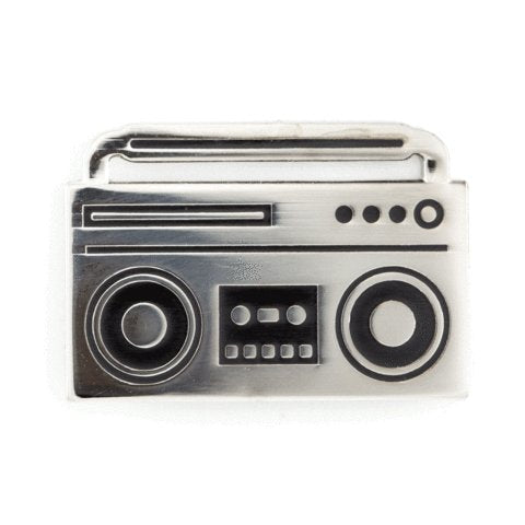 These Are Things - Boombox Enamel Pin - Little Nomad