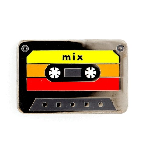 These Are Things - Mix Tape Enamel Pin - Little Nomad