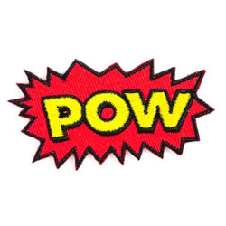 These Are Things - POW Embroidered Iron-On Patch - Little Nomad