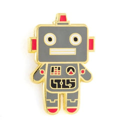 These Are Things - Robot Baby Enamel Pin - Little Nomad
