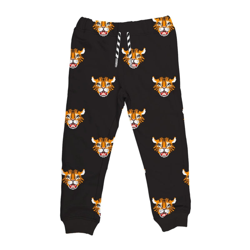 Tiger Print Drawstring Joggers - Little Nomad