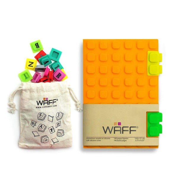 Waff World Gifts Inc - Orange - Medium Waff Combo - Little Nomad