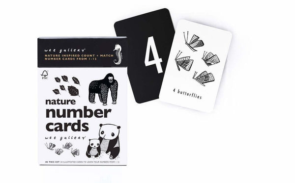 Wee Gallery - Nature Number Cards - Little Nomad