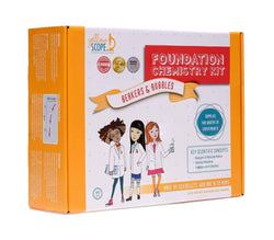 Yellow Scope - Foundation Chemistry Kit For Kids: Beakers & Bubbles - Little Nomad