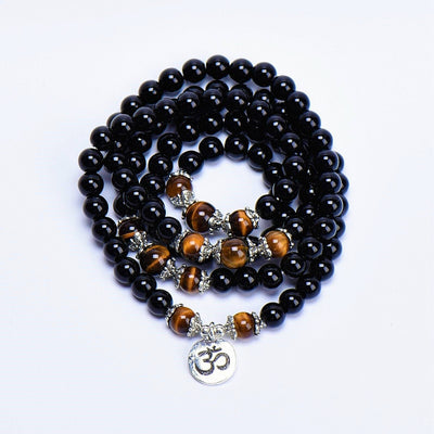 Tiger's Eye Mala - 108 Bracelet/Necklace - Paybackgift