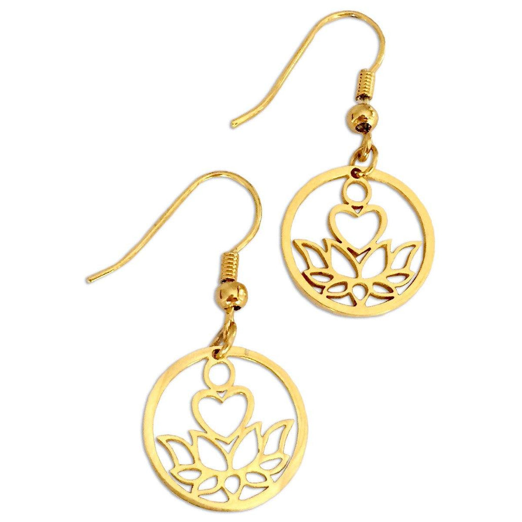 Purity Gold Earrings