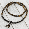 Tiger's Eye + Onyx Mala - Paybackgift