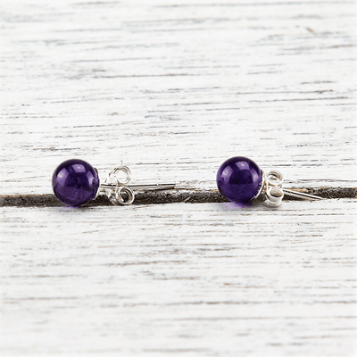 Amethyst Tranquility Earrings - Paybackgift