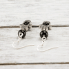 Onyx Hamsa Earrings - Paybackgift