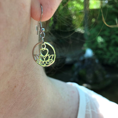 New Beginnings Silver Earrings - Karma Club - Paybackgift