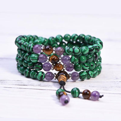 Malachite Transformation Mala - Paybackgift