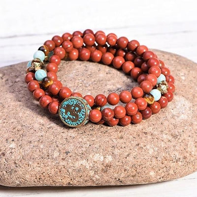 Red Jasper Passion Mala - Paybackgift