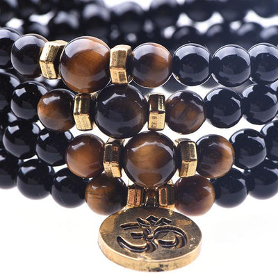Tiger's Eye Confidence Mala - Paybackgift