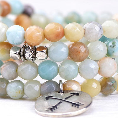 Amazonite Warrior Goddess Mala - Paybackgift