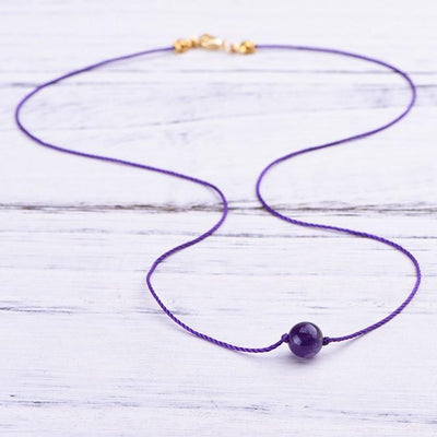 Amethyst Clarity Necklace - Paybackgift