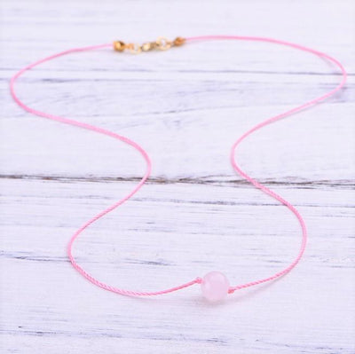 Rose Quartz Compassion Necklace - Paybackgift