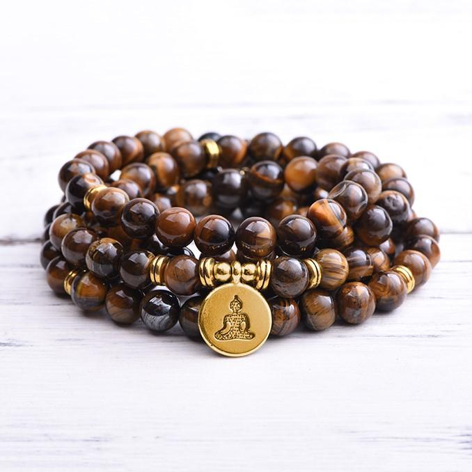 Tiger's Eye Success Mala
