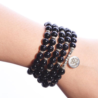 Black Onyx Power Mala - Paybackgift