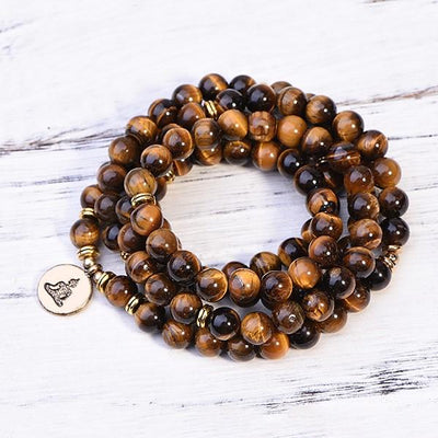 Tiger's Eye Success Mala - Paybackgift