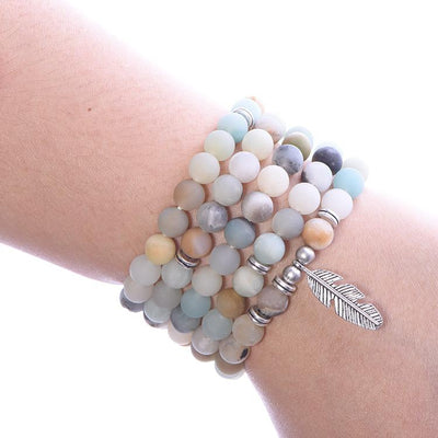 Amazonite Calm Mala - Paybackgift