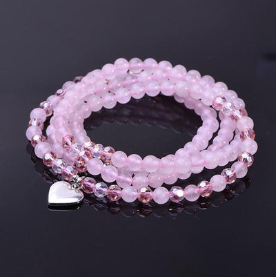 Rose Quartz Love Mala - Paybackgift