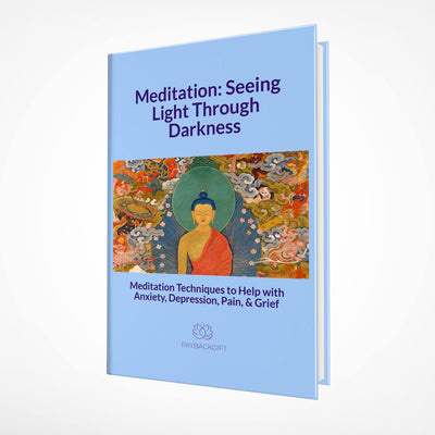 Meditation: Seeing Light Through Darkness Book - Paybackgift
