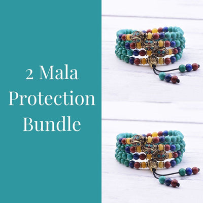 Turquoise Protection 2 Mala Bundle - Paybackgift