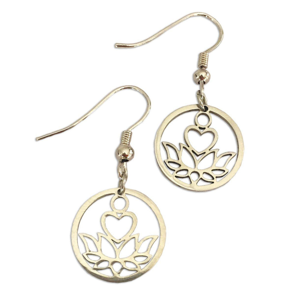 New Beginnings Silver Earrings