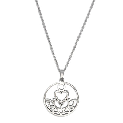 New Beginnings Silver Necklace - Karma Club - Paybackgift