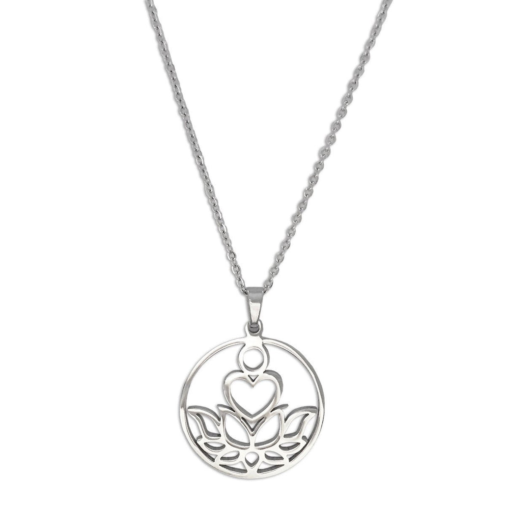 New Beginnings Silver Necklace