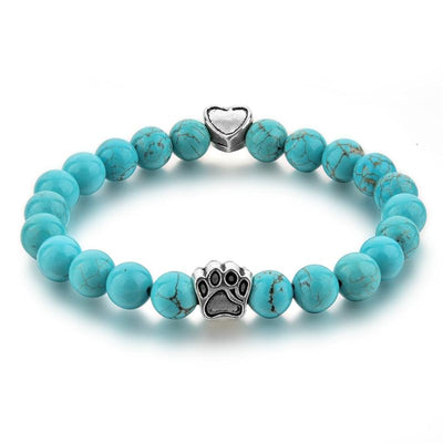 Turquoise Animal Connection Mala Bracelet - Paybackgift