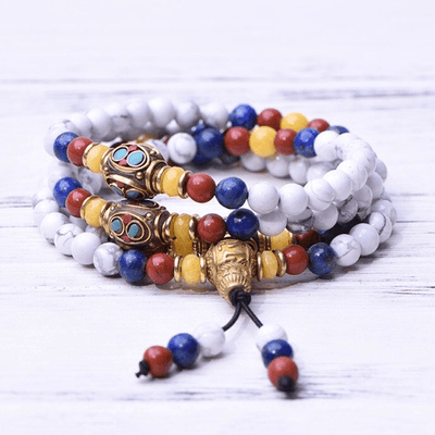 Howlite Protection Mala - Paybackgift