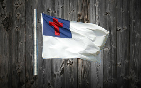 3 ft. x 5 ft. Christian Flag