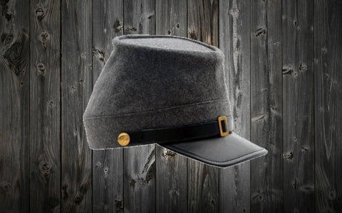 Civil War Confederate Kepi Hat