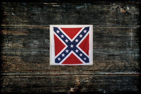 "Confederate Calvary Battle Flag 32"" x 32"""