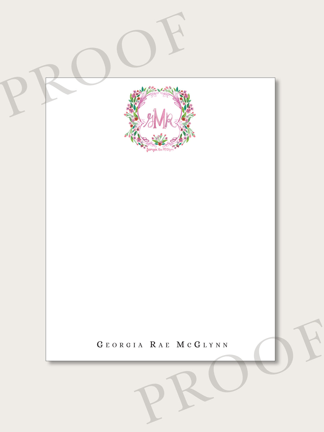 The Georgia Collection - Flat Notecards